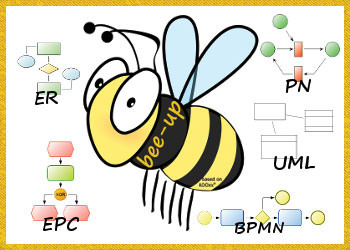Bee-Up project logo